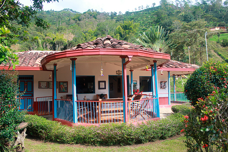 Finca hotel Andes Antioquia