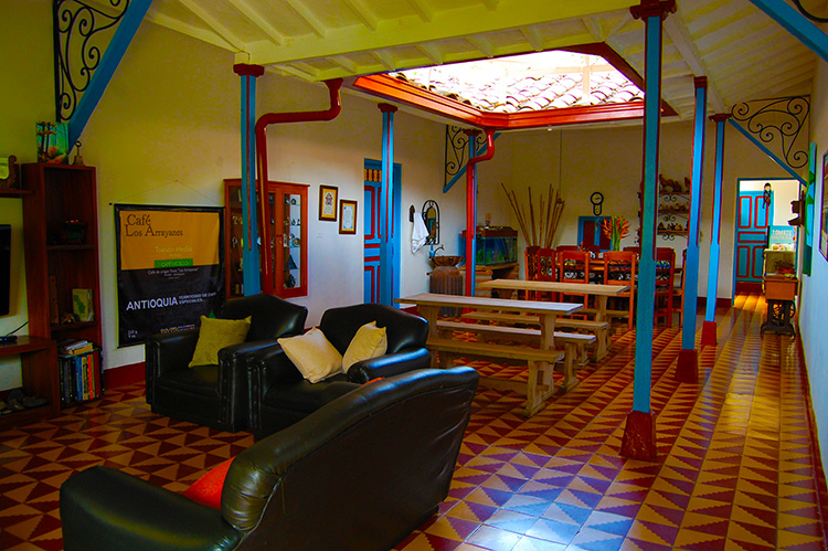 Comedor Finca Hotel Los Arrayanes